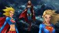 dc-comics - Supergirl   Times 3 wallpaper
