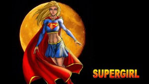 Supergirl Yellow Moon
