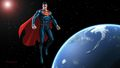 dc-comics - Superman In Space 2 wallpaper