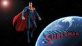 dc-comics - Superman In Space 3a wallpaper