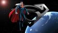 dc-comics - Superman In Space 3c wallpaper