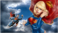 dc-comics - Superman   Supergirl In The Clouds 4 wallpaper