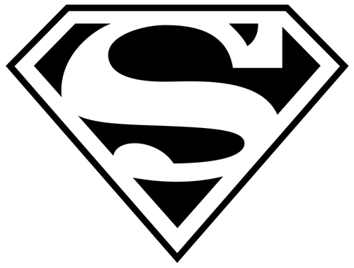 La lettera S wallpaper titled Superman logo