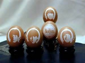 The Beatles チョコレート Easter Eggs