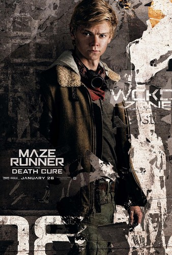 The Maze Runner Hintergrund entitled The Death Cure: Newt