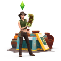 The Sims 4: Jungle Adventure Renders