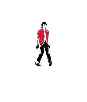 Thriller mj silhouette thriller 7648189 430 500