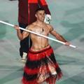 Topless Tongan At The 2018 Winter Olympics Opening Ceremony - hot-guys photo
