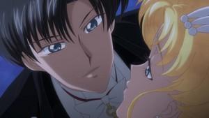 Tuskdo Mask and Sailor Moon