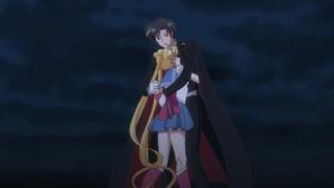 Tuxedo and Sailor Moon