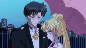 Usagi and Tuxedo Mask