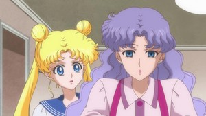 Usagi and her mom