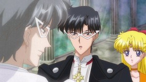 Venus Tuxedo Mask and King Endymion