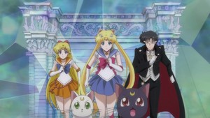 Venus moon and Tuxedo Mask