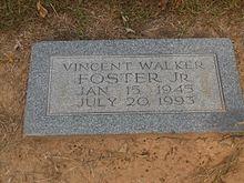 Gravesite Of Vince Foster