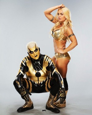 With Goldust