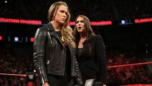 With Ronda Rousey
