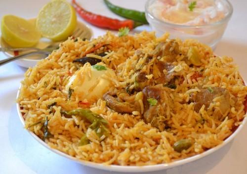 Indian Food wallpaper titled ambur biriyani