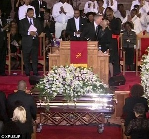 Whitney Houston Funeral In 2012