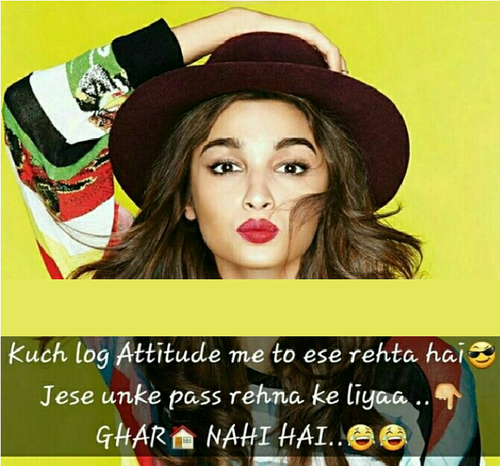 Bambidkar Wallpaper Entitled Attitude Status For Girls