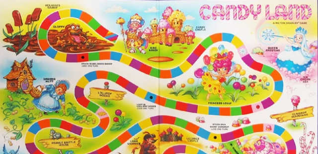 candyland board wide
