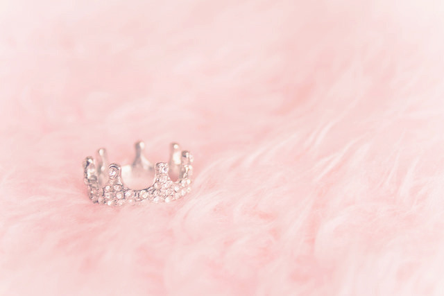Pink Color Images Crown Wallpaper And Background Photos