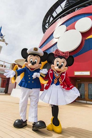 迪士尼 Cruise Line