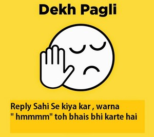 dekh pagli attitude image for boys whatsapp dp