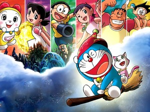 Doraemon-O Gato do Futuro desktop background 062429461