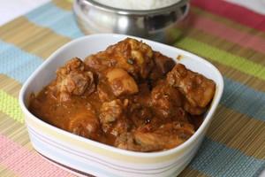 kongu chicken curry, de curry