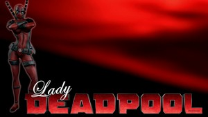 Lady Deadpool پیپر وال - On Love
