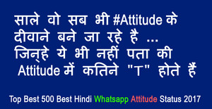 letest whatsapp attitude status hindi