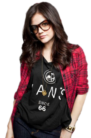 lucy in glasses png