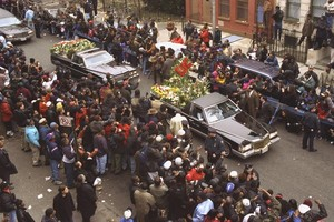 Christopher Wallace's Funeral Back In 1997