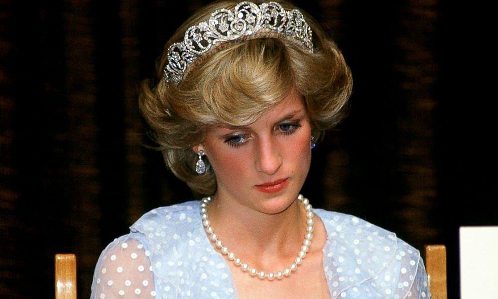 princess diana with tiara