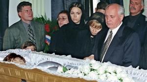 Raisa Gorbachev's Funeral In 1999