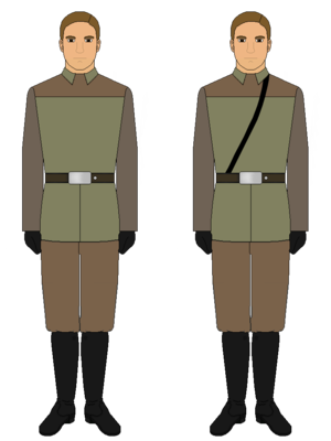 rebel alliance ground forces uniform
