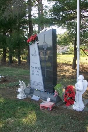 Gravesite Of Ryan White