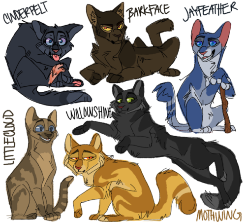 Warrior Pictures Cats