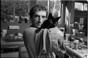 Harry Dean Stanton And His Cat