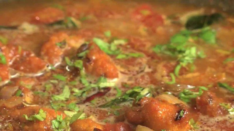 vada curry, de curry