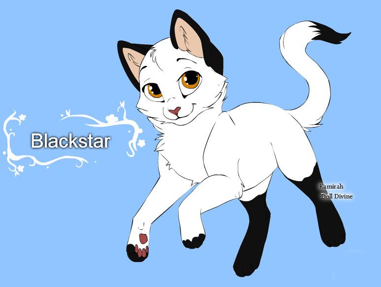 warrior cats character design templates blackstar