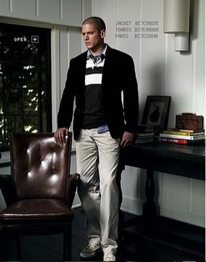 wentworth miller modelling