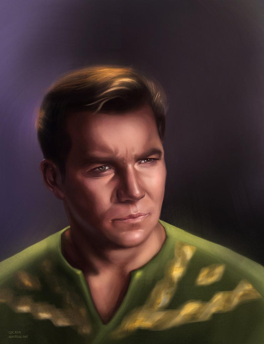 Captain Kirk by Spiritius