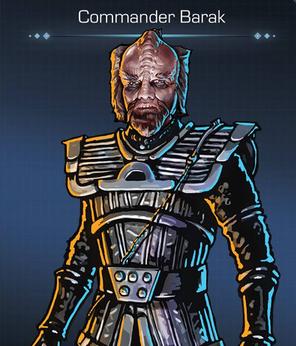 Commander Barak