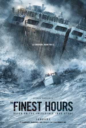"""""""The Finest Hours"""" (2016) - Promotional Poster"""