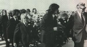 Freddie Prinze's Funeral In 1977
