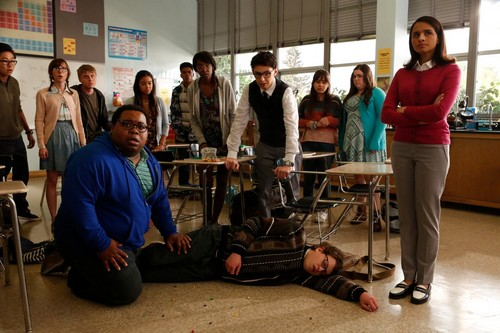 AP Bio wallpaper called 1x02 - Teacher Jail - The Class