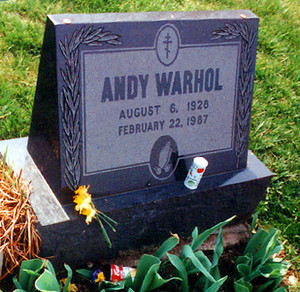 Gravesite Of Andy Warhol