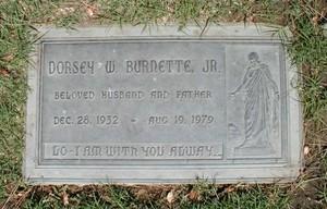 Gravesite Of Dorsey Burnette